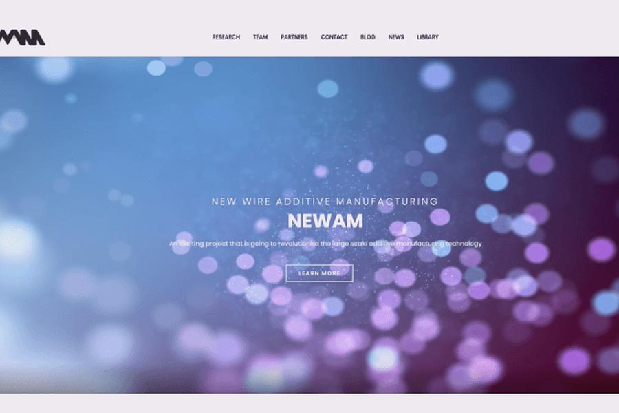 NEWAM website